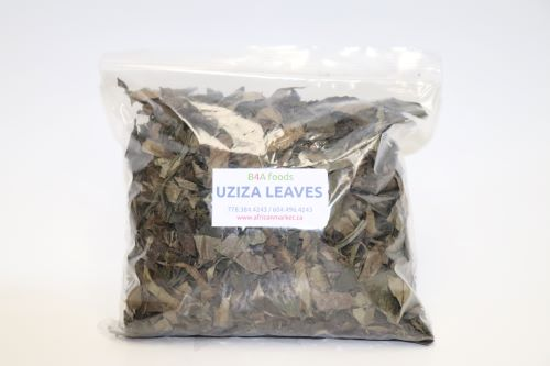 Dry Uziza Leaves