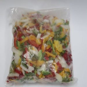 Mixed Bell pepper with Onions
