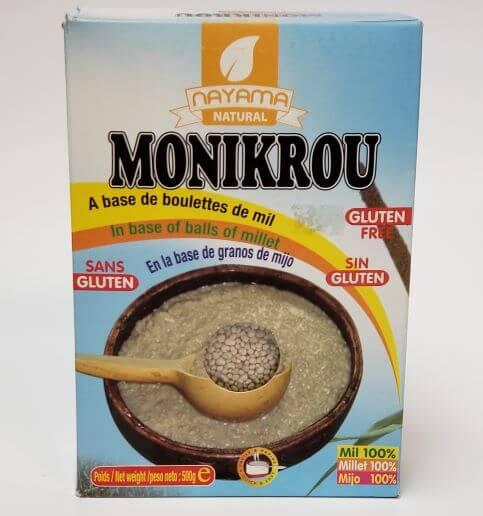 Monikrou (Boulettes de mil)