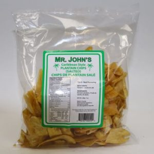 Mr John's Plantain Chips (Caribbean Style)