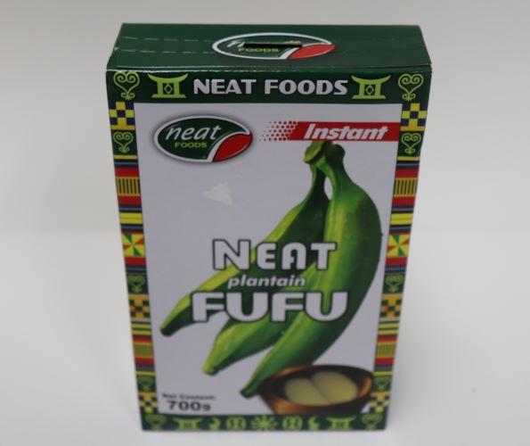 Neat Plantain Fufu