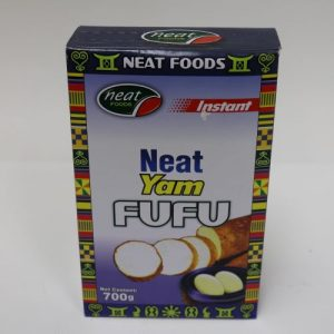 Neat Yam Fufu